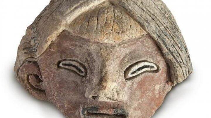 صورة نشرتها وزارة الثقافة البيروفية في 9 حزيران/ يونيو لتمثال عثر عليه شمال البلاد