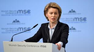 La ministre allemande de la Défense, Ursula Von der Leyen.