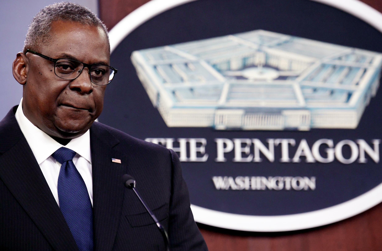 Le secrétaire américain à la Défense Lloyd Austin a parlé aux journalistes de l'occupation de l'Afghanistan par les talibans