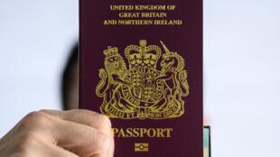 جواز السفر البريطاني لمواطني ما وراء البحار في 29 كانون الثاني/يناير 2021