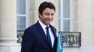 Benjamin Griveaux en septembre 2018 à l'Élysée.