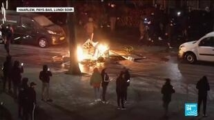2021-01-26 10:09 Covid-19 aux Pays-Bas : nouvelle nuit d'émeutes en opposition au couvre-feu