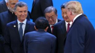 Xi Jinping y Donald Trump se han saludado durante la cumbre pero no han ofrecido detalles del encuentro que sostendrán el 1 de diciembre.