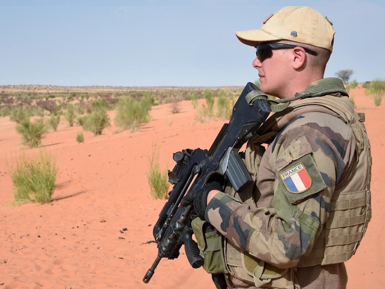 Talibani prijete nasiljem ako hrvatske trupe ne napuste Afganistan Mali_french_soldier
