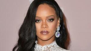 La chanteuse Rihanna à New York, le 13 septembre 2018