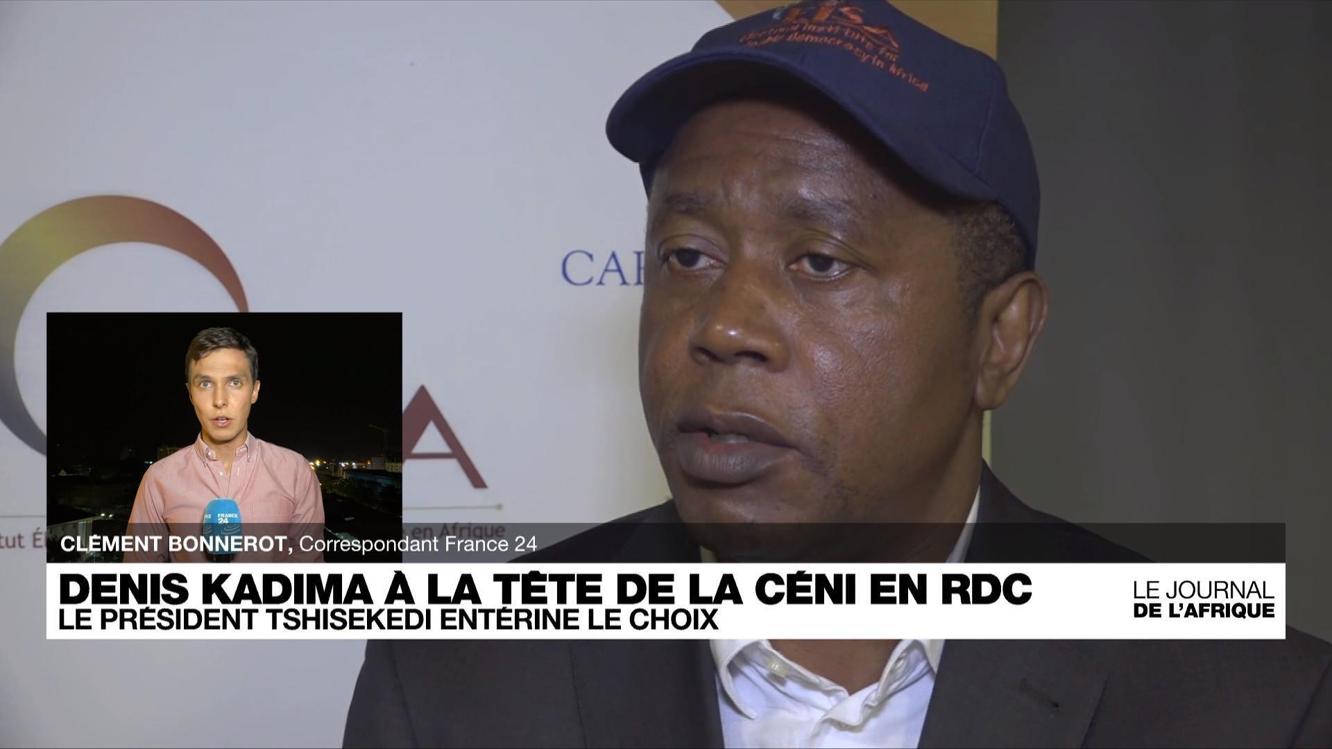 Denis Kadima choisi comme président de la CENI en RD Congo