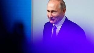 Russia's President Vladimir Putin said his United Russia party was working closely with Italian Interior Minister Matteo Salvini's anti-immigration, nationalist League party