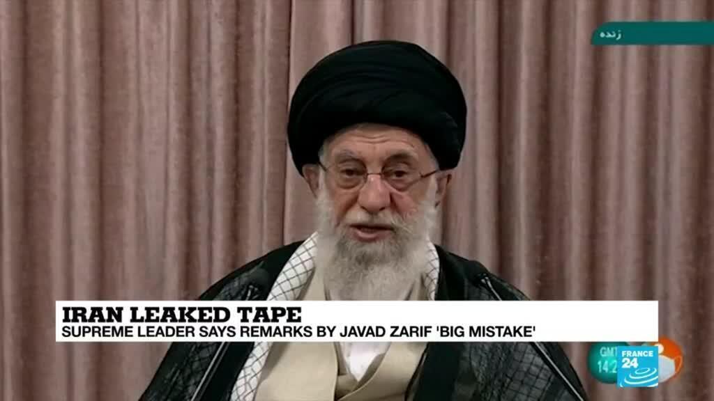 2021-05-03 09:07 Iran's Khamenei says remarks by Zarif in audio leak 'big mistake'