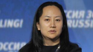 Wanzhou Meng, la directora financiera de Huawei, quien fue detenida por las autoridades canadienses para ser extraditada a Estados Unidos por la presunta violación de las sanciones impuestas por Washington contra Irán.