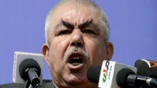 نائب الرئيس الأفغاني عبد الرشيد دوستم.