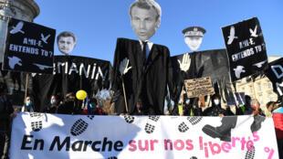 Manifestation Loi Sécurité globale 28/11