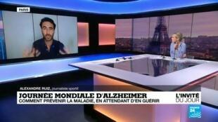 """2020-09-21 08:20 Journée mondiale d'Alzheimer : pour les proches, un quotidien transformé en """"enfer"""""""