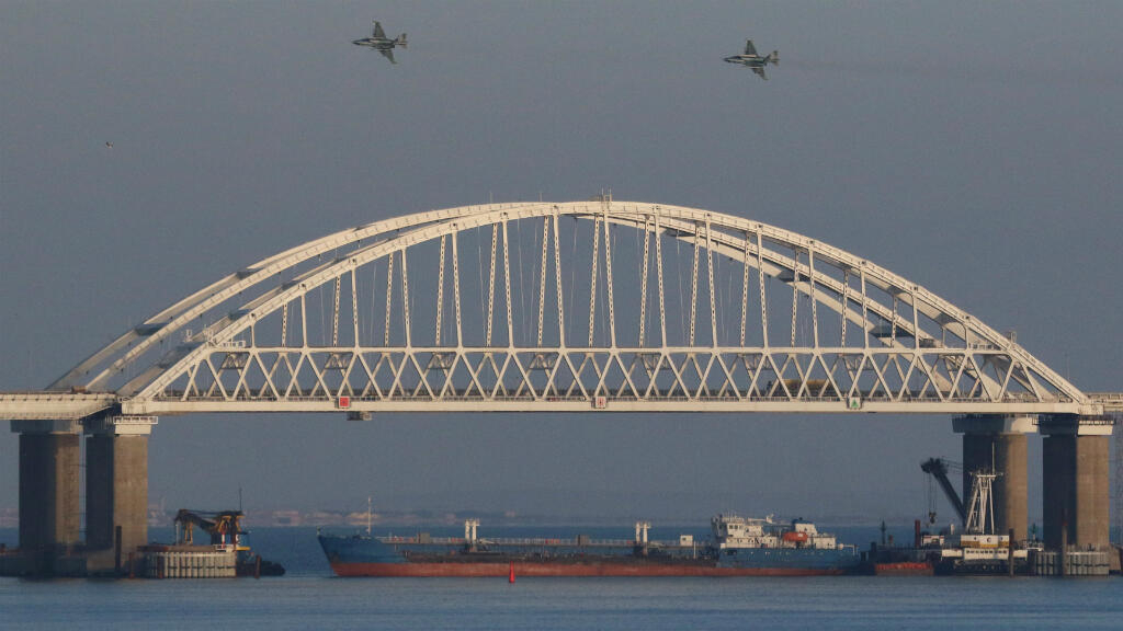 Russia seizes three Ukrainian ships in Black Sea after firing on them