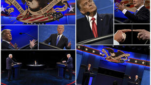US President Donald Trump and Democratic challenger Joe Biden clashed civilly in the final debate