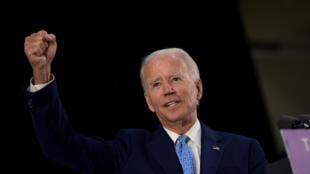 Joe Biden, el 30 de junio de 2020 en Wilmington, Delaware
