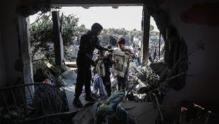 غارة إسرائيلية على الأراضي الفلسطينية