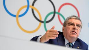 الألماني توماس باخ رئيس اللجنة الأولمبية الدولية