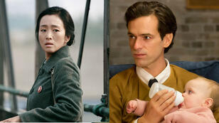 """Gong Li dans """"Coming Home"""" de Zhang Yimou et Romain Duris dans """"Une nouvelle amie"""" de François Ozon."""