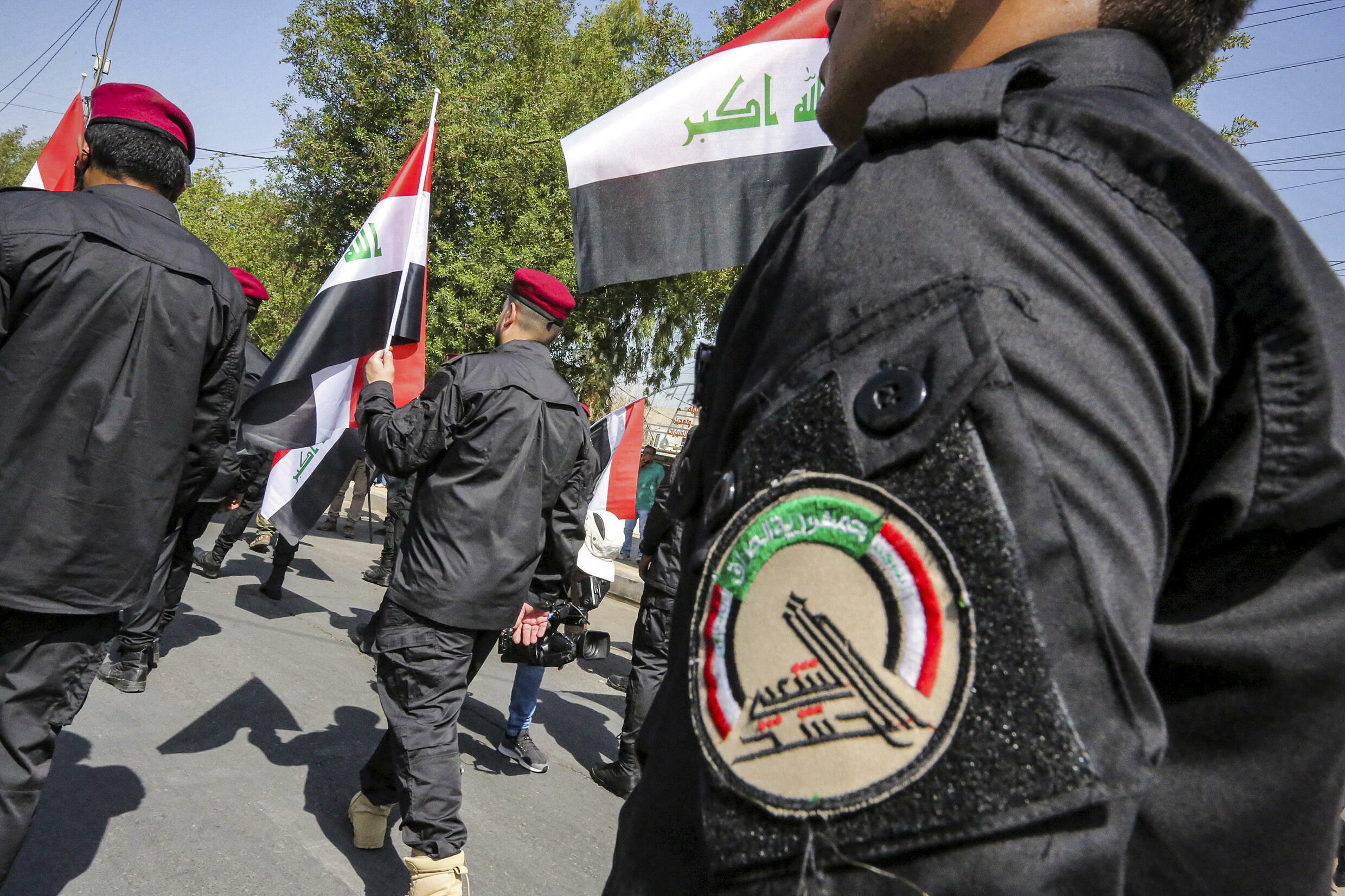 The Hached al-Shaabi, or Popular Mobilization Forces, formed in 2014 to defeat the Islamic State group