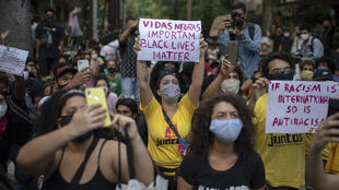 Manifestation Rio #vidasnegrasimportam