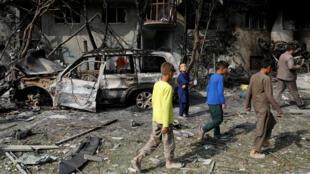 L'attaque du 28 juillet à Kaboul s'est produite sur une route près de l'Université Ghalib et de la place Shahid.