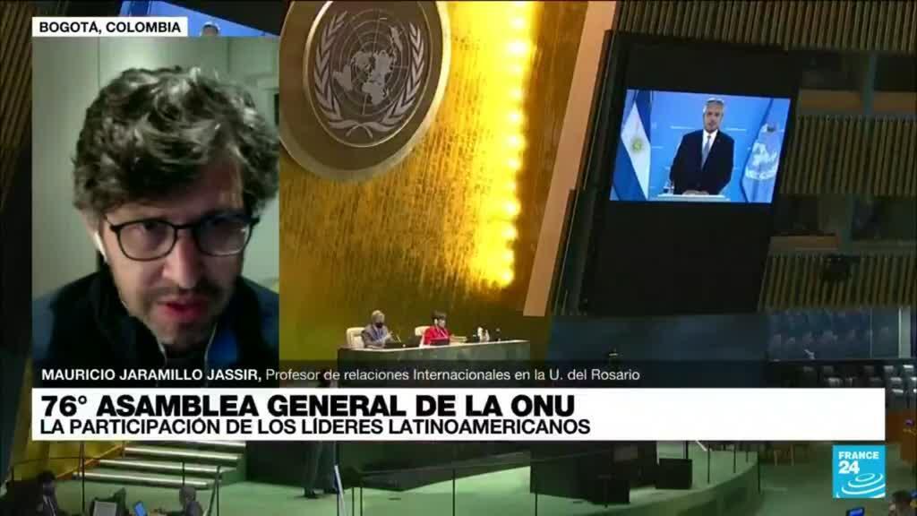 """2021-09-22 03:07 Mauricio Jaramillo: """"América Latina es una región clave en diversos temas de interés global"""""""