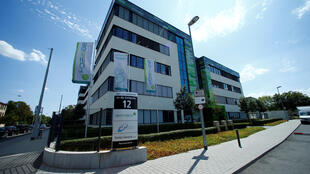 Le siège du laboratoire allemand BioNTech à Mayence, le 31 juillet 2018.