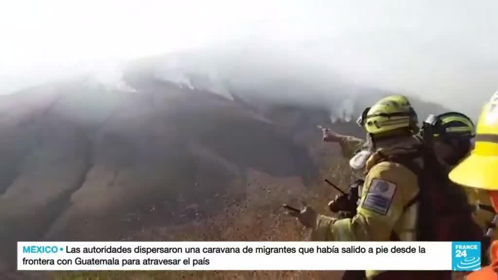 2021-09-03 14:41 Santa Cruz y Cochabamba, los departamentos bolivianos más afectados por los incendios forestales