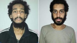 Notorious Islamic State fighters El Shafee ElSheikh (L) and Alexanda Kotey will not face the death penalty if placed on trial in the United States, according to US Attorney General Bill Barr