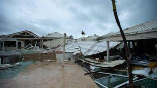 Les réseaux téléphoniques et Internet ont été largement endommagés sur l'île de Saint-Martin