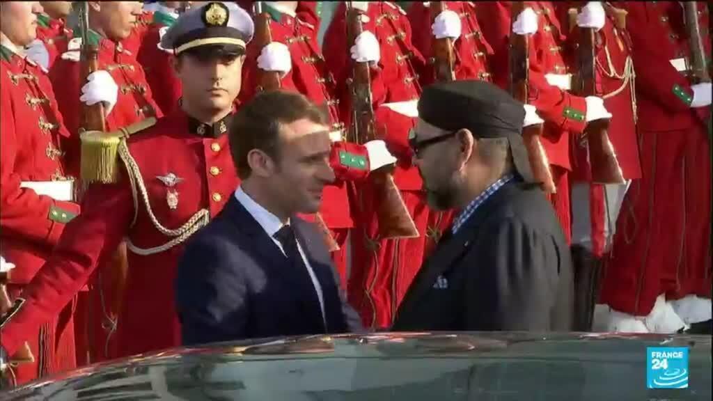 """2021-07-21 10:31 """"Projet Pegasus"""" : Emmanuel Macron ciblé par le Maroc via le logiciel espion"""
