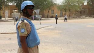 La Minusma, déployée dans le nord du Mali depuis juillet 2013, est la cible d'attaques régulières.