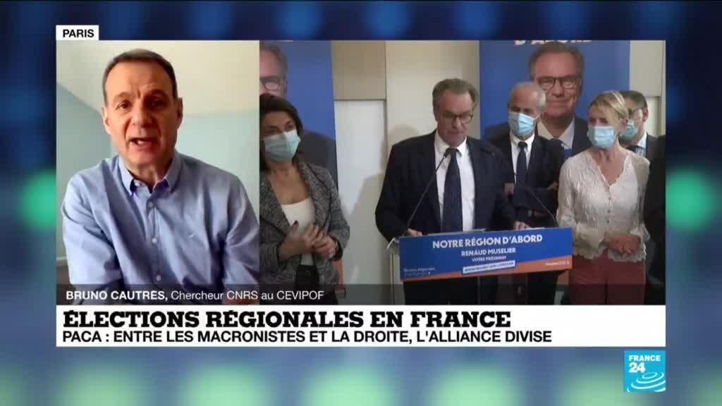 2021-05-03 13:07 Elections régionales en France : en région PACA, l'alliance LR/LREM divise