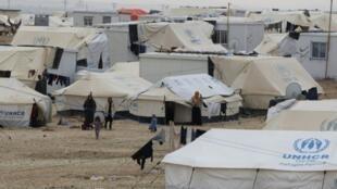 مخيم الزعتري للنازحين السوريين في الأردن
