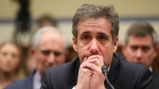 Michael Cohen, el exabogado personal del presidente de EE. UU. Donald Trump, testifica ante una audiencia del Comité de Supervisión y Reforma de la Cámara de Representantes en el Capitolio en Washington, EE. UU., el 27 de febrero de 2019.
