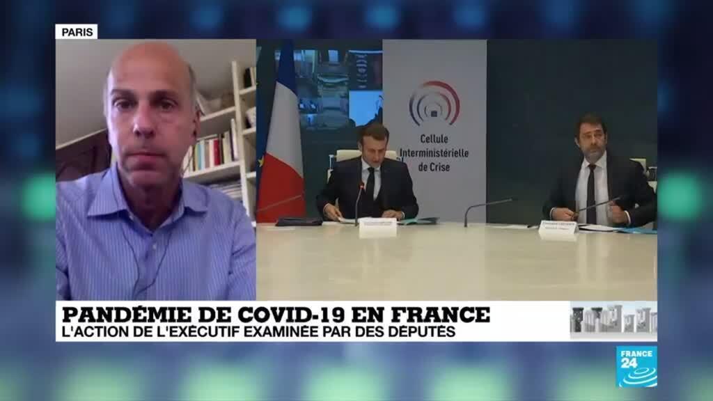 2020-04-01 18:01 Coronavirus en France : E. Philippe auditionné à l'Assemblée nationale