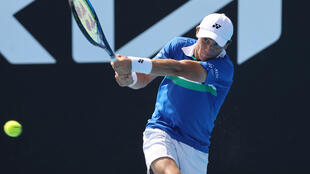 Casper Ruud became only the second Norwegian to make the last 16 of a Grand Slam Saturday, emulating his father