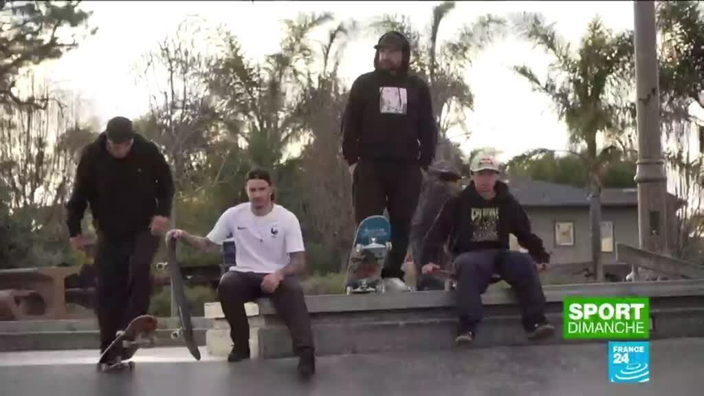 2021-04-25 21:24 JO de Tokyo : au coeur de la préparation des skaters français en Californie