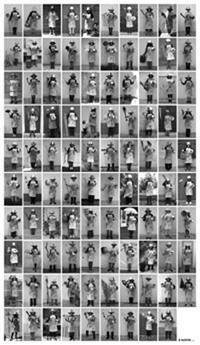 حليم قارة بيبان - لجنة شعبية لحماية المتحف الوطني للفن الحديث والمعاصر بتونس - الجنود الـ99 الأوائل - 2011- صورة فوتوغرافية على الالومينيوم 170x98