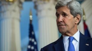Le secrétaire d'État américain John Kerry, à Washington, le 17 septembre 2015.