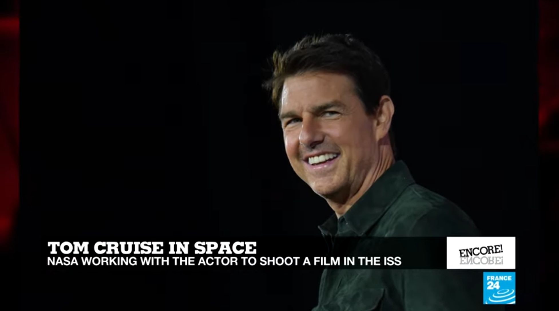 Tom Cruise plans to become the first actor to shot a film at the ISS.