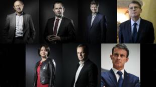 La Haute Autorité de la primaire de la gauche a dévoilé le 17 décembre la liste officielle des candidats.