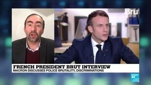 2020-12-04 17:01 France's Macron aiming to win over youth voters with Brut interview