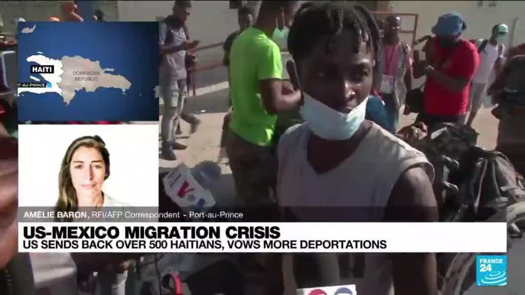 2021-09-22 16:06 US-Mexicos migration crisis: Haitian migrants' tortuous journey ends in Mexico limbo