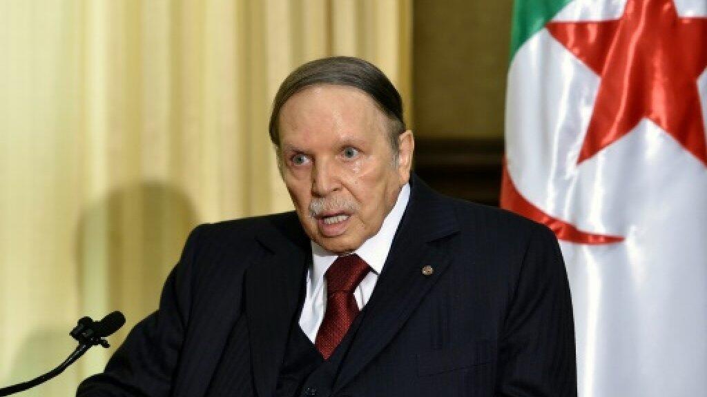 الرئيس عبد العزيز بوتفليقة في الجزائر. 10 أبريل/نيسان 2018