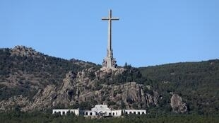 Vista general de la Basílica del Valle de los Caídos, lugar donde se encuentra el dictador Francisco Franco enterrado.