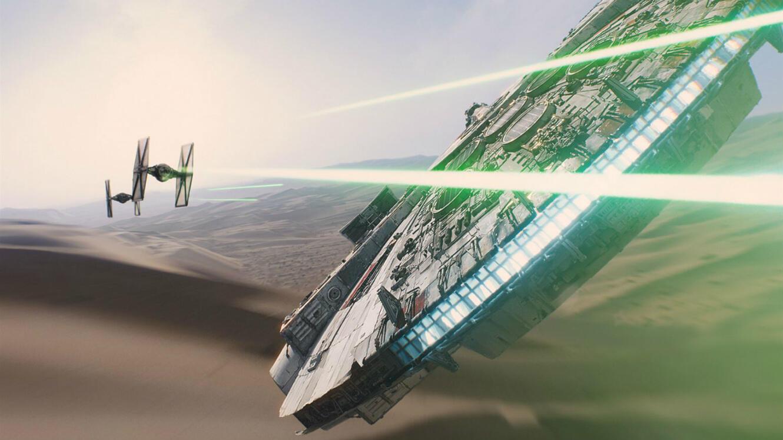"""""""Star Wars - Le Réveil de la Force"""" (2015)."""