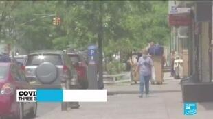 2020-06-25 13:05 New York slaps quarantine on interstate travellers from Covid-19 hotspots