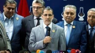 رئيس الحكومة المغربية المكلف سعد الدين العثماني.