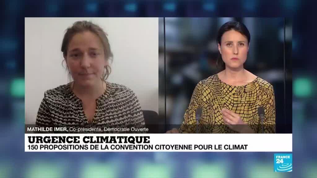 """2020-06-19 16:07 """"Construire un nouveau modèle"""" : dernière ligne droite pour la Convention citoyenne pour le climat"""